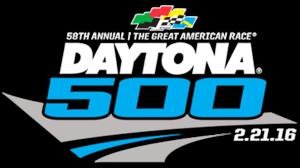 2016 Daytona 500 - Image: 2016 Daytona 500 logo