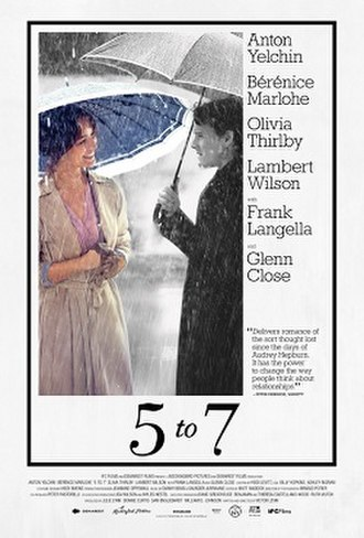 5 to 7 - Film poster