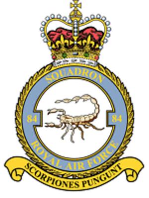 No. 84 Squadron RAF - Image: 84sqncrst