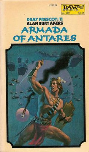 Armada of Antares - First edition cover