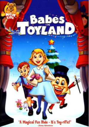 Babes in Toyland (1997 film) - DVD cover