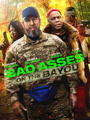 Bad Asses on the Bayou - DVD cover