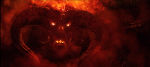 The Balrog, as seen in Peter Jackson's The Lor...