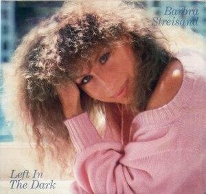 Left in the Dark - Image: Barbra Left in the Dark single cover