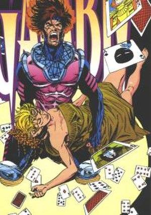 Bella Donna (comics) - Bella Donna Boudreaux with Gambit