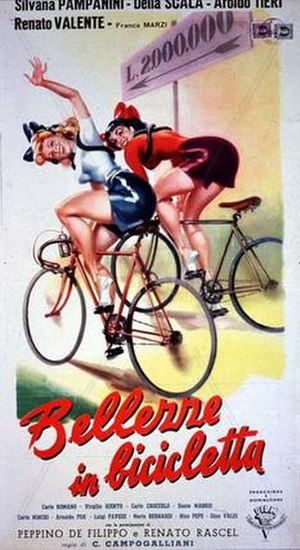 Beauties on Bicycles - Image: Bellezze in bicicletta