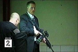 2008 Kabul Serena Hotel attack - Image: Bodyguard kabul