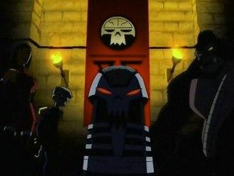 Brotherhood of Evil - The Brotherhood of Evil in the Teen Titans Animated Series.