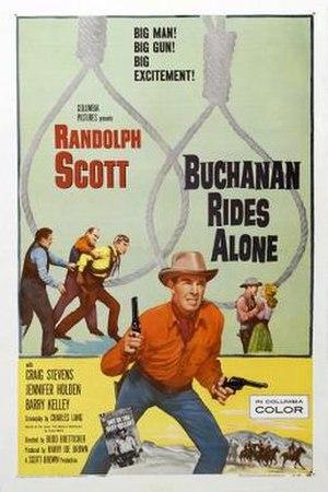 Buchanan Rides Alone - Image: Buchanan Rides Alone Film Poster