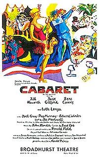 <i>Cabaret</i> (musical) 1966 musical by John Kander and Fred Ebb
