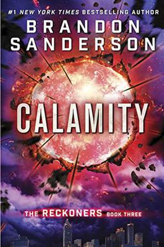 The Reckoners - Image: Calamity book cover