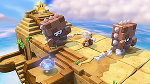 Captain Toad: Treasure Tracker - E3 2014 screenshot of the game.