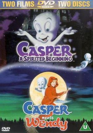 Casper the Friendly Ghost in film - 2 movie-set of the Direct-to-Video films from Saban Entertainment distubuted by 20th Century Fox Home Entertainment