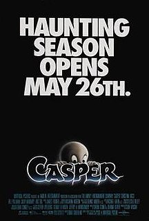<i>Casper</i> (film) 1995 American family comedy fantasy film directed by Brad Silberling