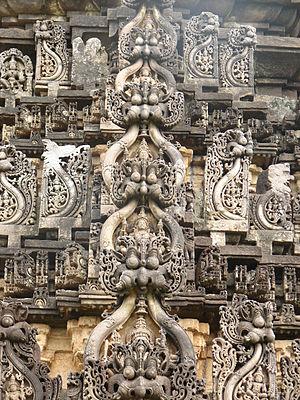 Kirtimukha - Image: Chikkamagalur Amruthapura kirthimukha retouched