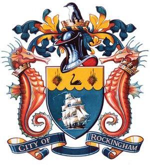 City of Rockingham - City of Rockingham Coat of Arms