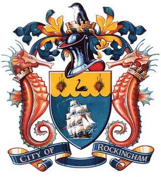 City of Rockingham - City of Rockingham Coat of Arms