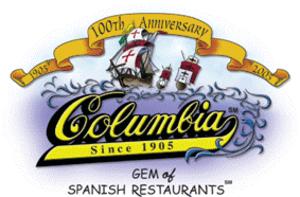 Columbia Restaurant - Image: Columbia 100 logo