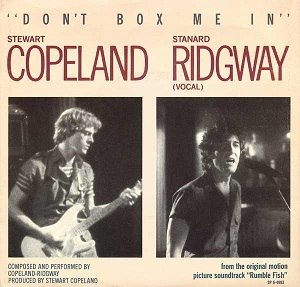 Don't Box Me In - Image: Copeland and Ridgway Don't Box Me In