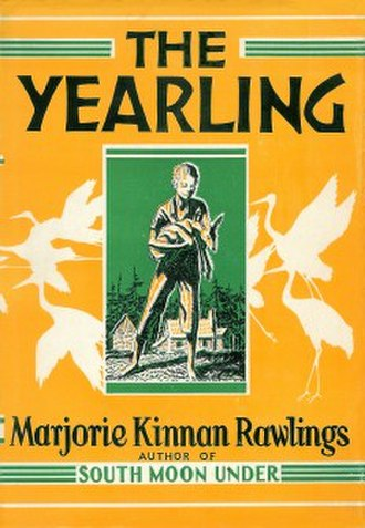 The Yearling - Image: Cover of The Yearling 1938 Original