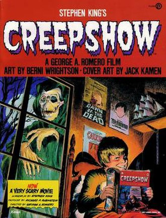 Creepshow - Cover for the Creepshow comic book adaptation by Jack Kamen.