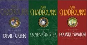 The Dark Age (series) - The trilogy (U.K versions), in order of publication from left to right.