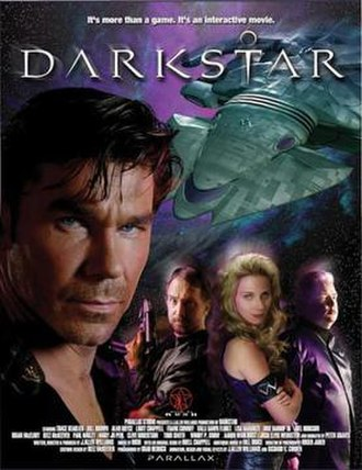 Darkstar: The Interactive Movie - A promotional flyer for the game.