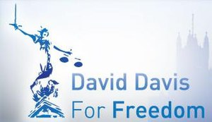 David Davis by-election campaign, 2008 - The logo of the campaign