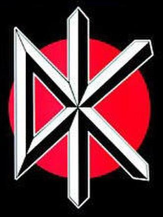 """Dead Kennedys - """"DK"""" logo"""