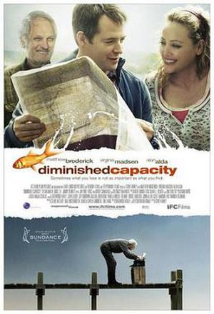 Diminished Capacity - Theatrical release poster