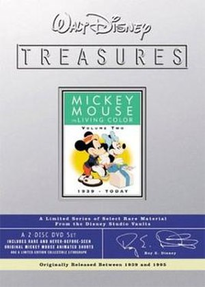 Walt Disney Treasures: Wave Three - Image: Disney Treasures 03 mickeycolor