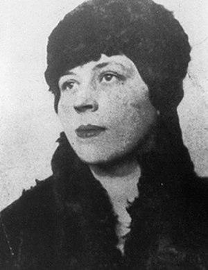 1919 in poetry - Djuna Barnes, ca. 1919.