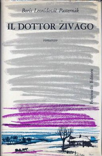 Doctor Zhivago (novel) - First Italian edition cover