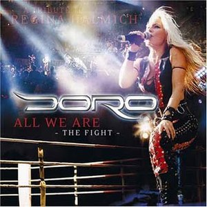 All We Are - Image: Doro All We Are The Fight