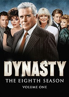 <i>Dynasty</i> (1981 TV series, season 8) Season of television series
