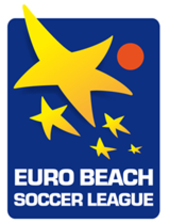 Euro Beach Soccer League - 2009–2015 Accompanying the new league structure in 2009 was the introduction of a new logo.