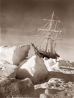 barquentine built 1912, used by Sir Ernest Shackleton on a South Pole expedition