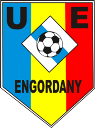 UE Engordany - Club's crest until 2017.