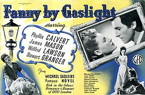 Fanny by Gaslight (film) - UK promotional poster