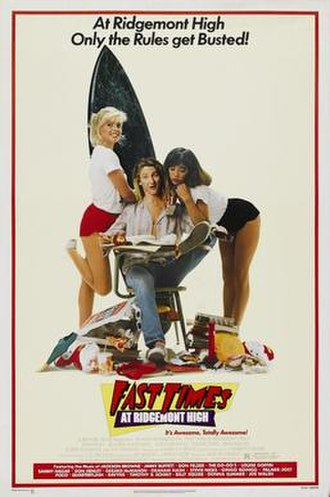 Fast Times at Ridgemont High - Theatrical release poster