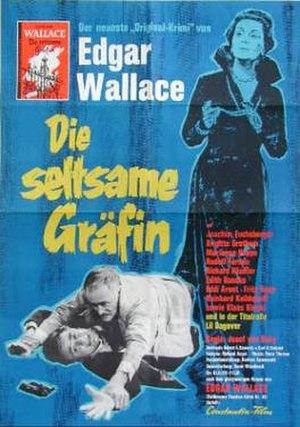 The Strange Countess - German film poster