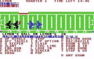 Computer Football Strategy - Screenshot