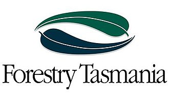 Sustainable Timber Tasmania - Former Forestry Tasmania logo (1994-2017)