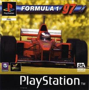 Formula 1 97 - PAL region Cover art