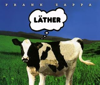 <i>Läther</i> 1996 studio album by Frank Zappa