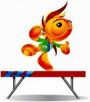 Artistic gymnastics at the 2010 Central American and Caribbean Games - Artistic gymnastics Mascot at Mayagüez 2010