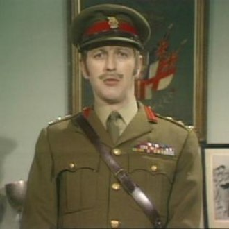The Colonel (Monty Python) - Graham Chapman in character as The Colonel