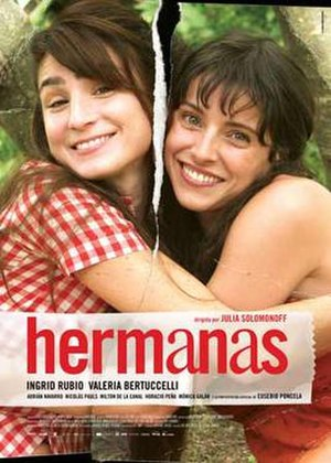 Hermanas - Theatrical release poster