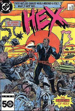 Jonah Hex - Image: Hex comic cover