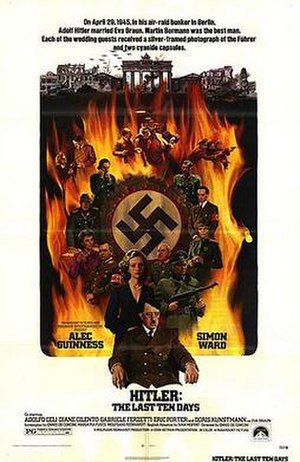 Hitler: The Last Ten Days - Theatrical release poster